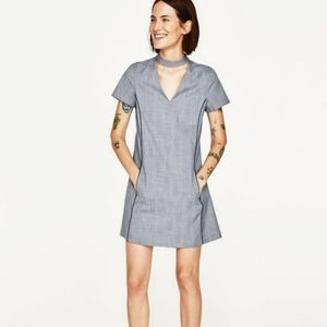 ZARA | BASIC CHOKER POCKET DRESS